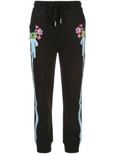 Cynthia Rowley Dylana Ribbon Stripe Track Trousers In Black Jogger Pants, Joggers, Cynthia Rowley, Drawstring Waist, Size Clothing, Women Wear, Pajama Pants, Trousers, Ribbon