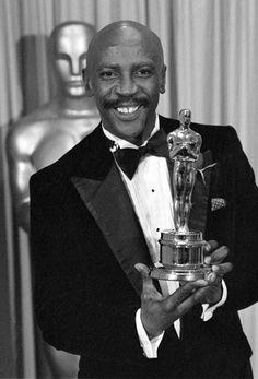 Image detail for -Black History Month: Oscar winners Merle Oberon, Sean Penn, Miles Davis, Catherine Deneuve, James Dean, Academy Award Winners, Academy Awards, Louis Gossett Jr, An Officer And A Gentleman