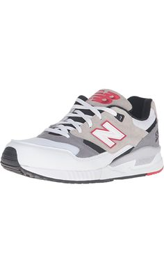 New Balance Men's 530 Lost Mixes Collection Lifestyle Sneaker, White/Grey/Black, 14 D US Best Price