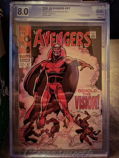 1st Appearance of The Vision