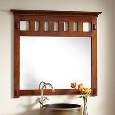 "40"" Harington Oak Vanity Mirror"