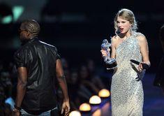 Kanye West Interrupting Taylor Swift - Cosmopolitan.com