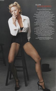 Ellen DeGeneres - those legs!! Who knew?