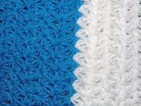Crochet Geek - Free Instructions and Patterns: Galaxy Stitch Crochet Winter Scarf