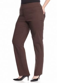 Ruby Rd  Plus Size Air Pull-On Tech Stretch Pant