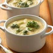 Slow-Cooker Three Cheese Broccoli Soup recipe from Betty Crocker