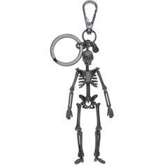ALEXANDER MCQUEEN skeleton keyring