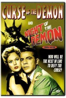 """""""Curse of the Demon"""" - A charming 1950's thriller that weave in witchcraft, Druids and demon monsters. It's a fun ride I can't resist. More ghost story than monster movie, it's worth tracking down."""