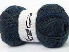 Mango Wool Shades Grey Nuances de bleus
