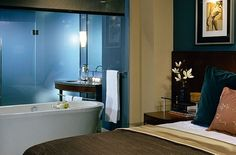 Hotel 1000 bathtub, Seattle, Washington.  I've actually stayed here & it's a gorgeous hotel!