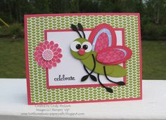 Stampin' Up!  Punch Art  Cindy McGurk  Butterfly