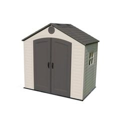 Lifetime 8 ft. x 5 ft. Outdoor Storage Shed-6406 at The Home Depot