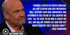 Quote: Fred Thompson