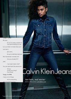 Les petits sextos (entre amis) de Calvin Klein