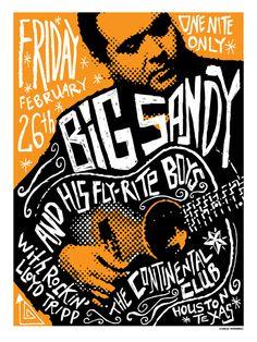 GigPosters.com - Rockin Lloyd Tripp - Big Sandy And His Fly Rite Boys