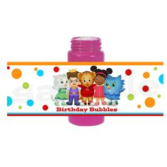 INSTANT DIY Daniel Tiger Printable Birthday Party by sohappyshop