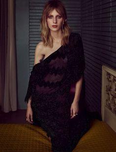 Julia Nobis by Iango Henzi + Luigi Murenu for Vogue Germany October 2015