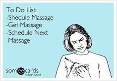 Don't forget your #massage