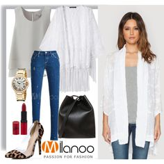 Kimono style! by gaby-mil on Polyvore featuring Uniqlo, 3.1 Phillip Lim, Rimmel, milanoo, m26802, m24598 and m27838