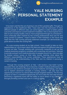 Looking for a good Yale nursing personal statement example? Personal Statement Medical, Personal Statement Grad School, Personal Statements, School Essay, Pa School, High School, Essay Introduction Example, Physician Assistant School, College Essay Examples