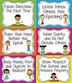 - Classroom Rules that are tangible and easy for younger students to understand. Classroom Rules that are tangible and easy for younger students to understand. Classroom Procedures, Classroom Behavior, Future Classroom, Classroom Activities, Class Rules Poster, Classroom Rules Poster, Elementary Classroom Rules, Classroom Displays, Classroom Organization