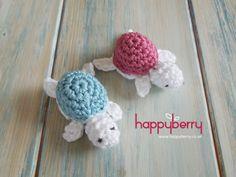 Free crochet video tutorial on how to crochet a baby turtle! http://youtu.be/gc62BqO5j10