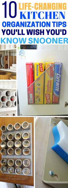 10 Life-Changing Kitchen Organization Tips That Can Be Done