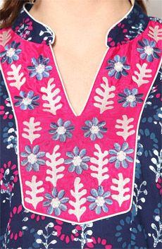 V Shape Neck Collar Design Neck for Salwar Suit