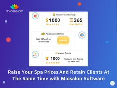 By taking the right approach, your existing clientele are most likely to stick with you. To manage your old, new as well as existing clients, make use of MioSalon, Salon software. #salonsoftware #spasoftware #salonmanagementsoftware #saas #salontoday #salonappointmentprogram Spa Prices, Salon Software, On Today, Appointments, Raising, Salons, Lounges
