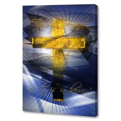 Menaul Fine Art 'Lord's Prayer' by Scott J. Menaul Graphic Art on Wrapped Canvas Size: