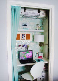 Closet, home office