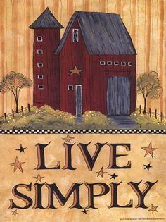 Lisa Hilliker Live Simply Barn