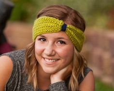 Seattle Seahawks inspired Crochet Knotted Headband