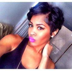 Gorgeous Ideas About Pixie Cut for Black Women…