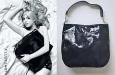 JILL STUART EMELLE TOTE Rare Navy Blue Patent Leather Runway Handbag Purse Bag #JillStuart #TotesShoppers