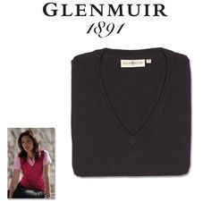 2013 GLENMUIR Astrid Sleeveless Pullover / Sweater100% Cotton Vest.