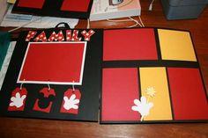 Disney+Scrapbook+Ideas | Disney Scrapbook Ideas / Layout: Disney