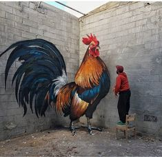 Anamorphic Street Art – Graffiti Have Never Been So Alive - streetart 3d Street Art, Murals Street Art, Urban Street Art, Amazing Street Art, Street Art Graffiti, Mural Art, Street Artists, Berlin Graffiti, Best Street Art