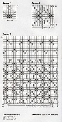Fair Isle Knitting Patterns, Fair Isle Pattern, Knitting Charts, Knitting Stitches, Hand Knitting, Knitting Machine, Wrist Warmers, Hand Warmers, Fair Isle Chart