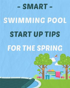 Smart Swimming Pool Start Up Tips For The Spring Above Ground Swimming Pools, Above Ground Pool, In Ground Pools, Pool Cleaning Tips, Solar Pool Heater, Swimming Pool Maintenance, Pool Care, Intex Pool, Summer Pool
