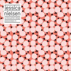 news - Jessica Nielsen - surface pattern design Textures Patterns, Fabric Patterns, Print Patterns, Design Textile, Fabric Design, Surface Pattern Design, Pattern Art, Geometry Pattern, Fruit Pattern