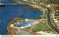 Morecambe: The Decline, Fall and Rejuvenation of a Seaside Resort (Part One) – East of the Midland Hotel, Morecambe, Eden Project, Air Photo, Art Deco Buildings, Seaside Resort, Blackpool, Far Away, Old Pictures