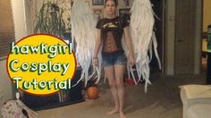 DIY Victoria's Secret Angel Wings Funny and helpful tutorial of how to make really cool wings