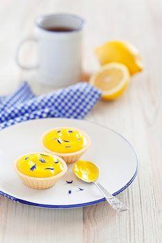 Lemon curd tartlets