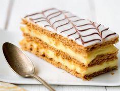 Réalisez un délicieux mille-feuille, comme à la boulangerie ! Pour la recette, c'est par ici !