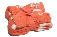 Luxurious Soft Micro Mink Sherpa Blanket Throw Paw Print Plush Throw Blanket (Coral Pink/Orange) Sherpa http://www.amazon.com/dp/B00MAMIBM0/ref=cm_sw_r_pi_dp_g5taub1QHBCQ2