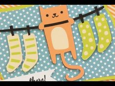 """""""HANG IN THERE!"""" CRICUT GET WELL CARD - YouTube"""