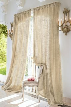 I bought these for our Master Bedroom and they are beautiful! Raw Silk Woven Drapery Panel from Soft Surroundings Silk Curtains, Drapery Panels, New Living Room, Living Spaces, Luxury Duvet Covers, Luxury Bedding Collections, Soft Surroundings, Floor Rugs, Stores