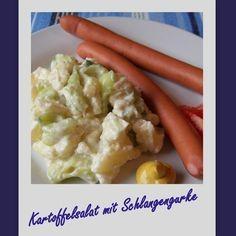 Kartoffelsalat mit Schlangengurke