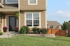Ever since I moved into my current house, I wanted to add a retaining wall right off our front porch. Our yard slants to the right, and our ...